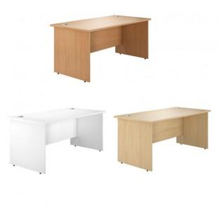 Valoir Panel End Rectangular Desk