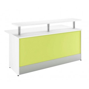 Duo Coloured Reception Desk