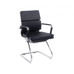 Avanti Mid Back Leather Visitor Chair