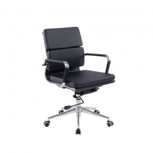 Avanti Mid Back Leather Office Chair