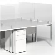 Virus Shield Desk Mounted Screens