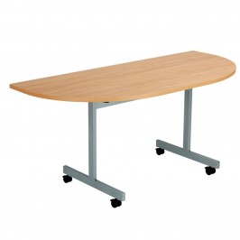 Fliptop Semi Circular Tables