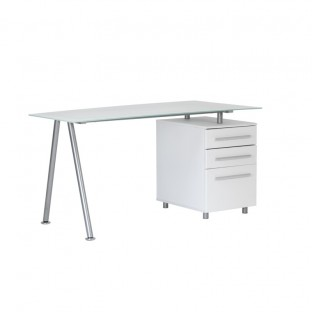 Cleveland 3 Glass Workstation