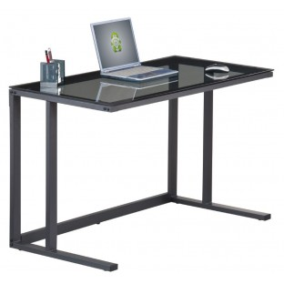 Air Smoked Glass Desk
