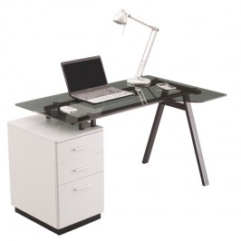 Cleveland 4 Glass Workstation