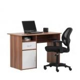 Desk & Mesh Operator Chair