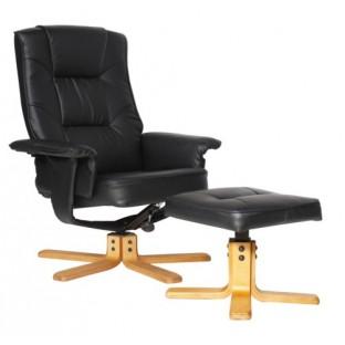 Drake Recliner Chair & Footstool
