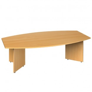 Barrel Shape Boardroom Table Arrow Head Leg