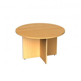 Circular Boardroom Table Arrow Head Leg