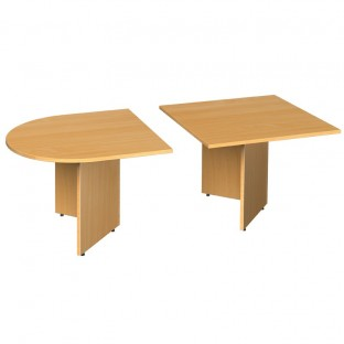 Extension Boardroom Table Arrow Head Leg