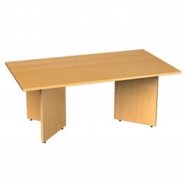 Rectangular Boardroom Table Arrow Head Leg