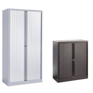 Steel Tambour Cupboards