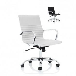 Nola Leather Medium Back Executive Office Chair
