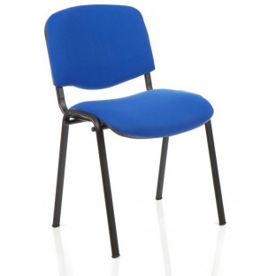 ISO Stacking Chair Black Frame
