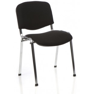ISO Stacking Chair Chrome Frame