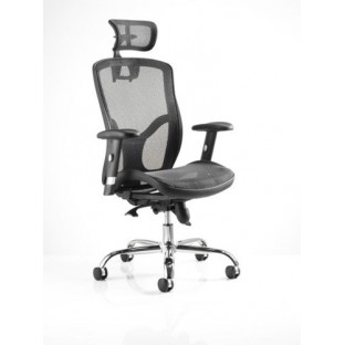 Mirage II Mesh Chair with headrest