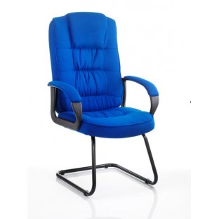 Moore Fabric Cantilever Chair