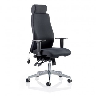 Onyx Posture Office Chair with headrest