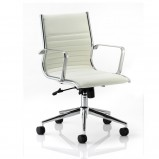Ritz Leather Medium Back Executive Office Chair