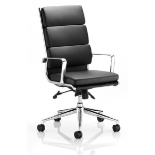 Savoy High Back Leather Office Chair