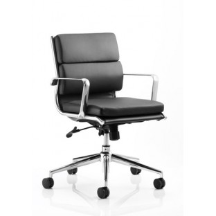 Savoy Medium Back Leather Office Chair