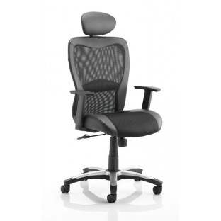 Victor II Mesh Office Chair with headrest