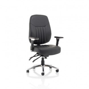 Barcelona Deluxe Leather Office Chair