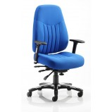 Barcelona Deluxe Fabric Office Chair