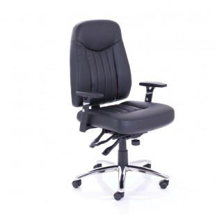 Barcelona  Plus Leather Office Chair