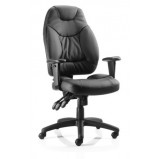Galaxy Leather Office Chair