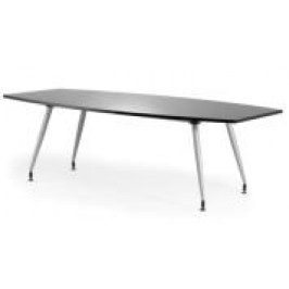 High Gloss Black Boardroom Table