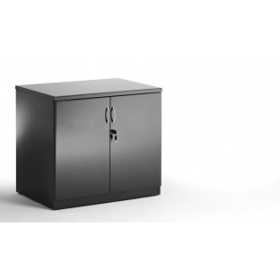 High Gloss Black Credenza
