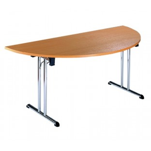 Folding Semi Circular Table