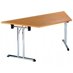 Folding Trapezoidal Table