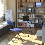 Folding Laptop Desk & Chair Bundle