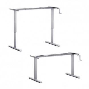 Crank Height Adjustable Desk