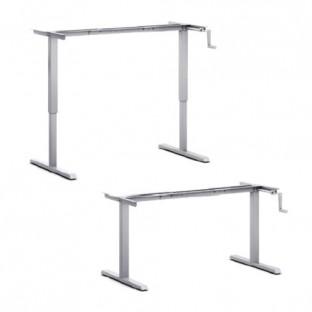 Crank Height Adjustable Desk