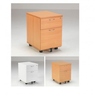 Lite 2 Drawer Mobile Pedestal