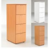 Lite 4 Drawer Filing Cabinet