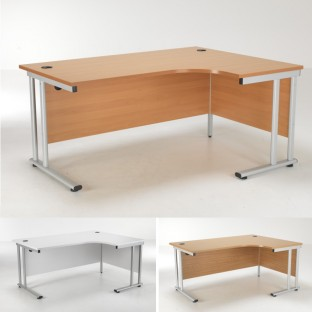 Lite Crescent Desk