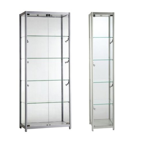 glass display case. Panoramic Glass Display Case E