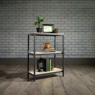 Industrial Style 2 Shelf Bookcase