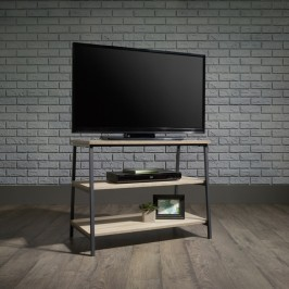Industrial Style Trestle Table TV Stand