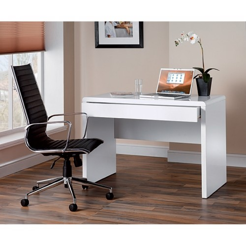 Luxor Gloss White Workstation Cheap Home Office Workstations