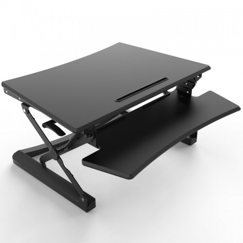cheap sit stand work platform office desks uk